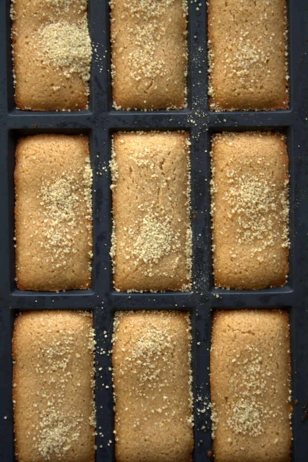 Financiers praliné
