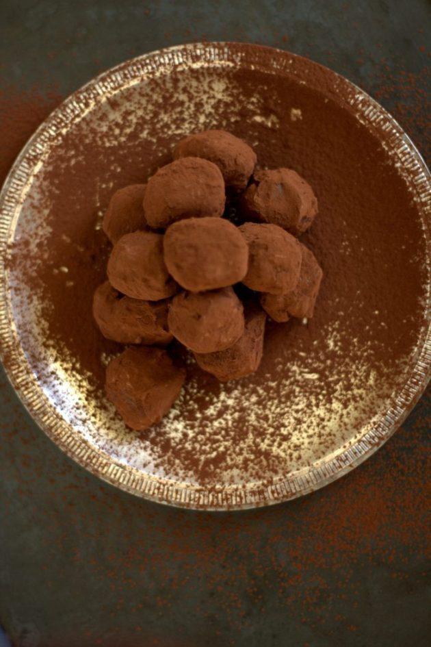 Truffes tout Chocolat pour Noel