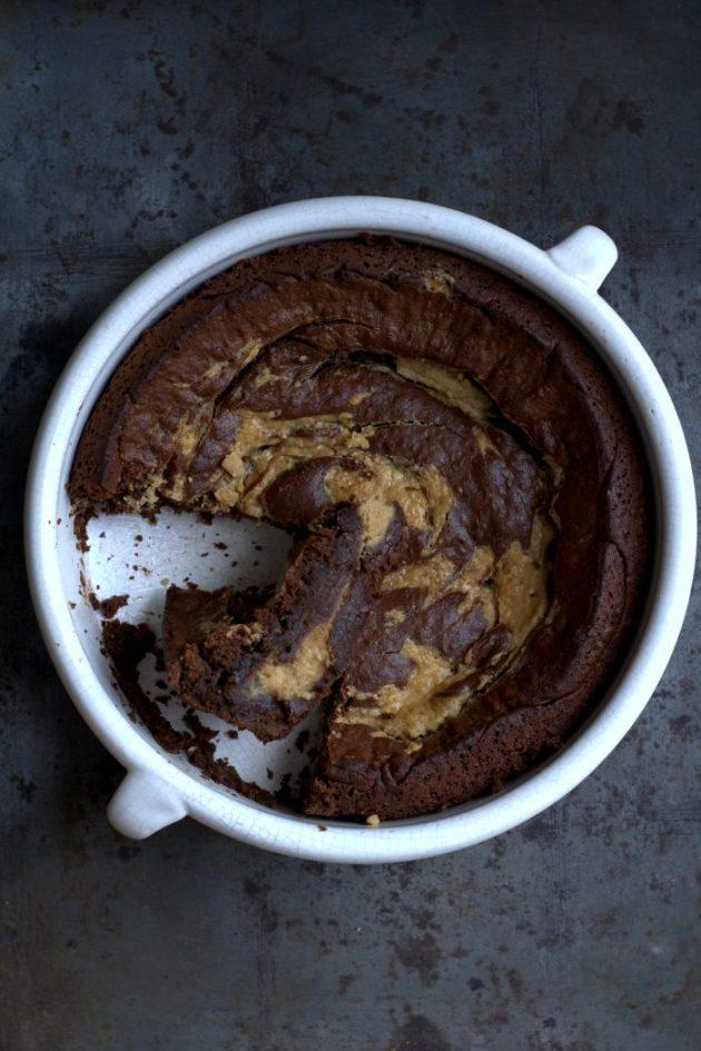 Brownies Chocolat Noir Beurre de cacahuètes