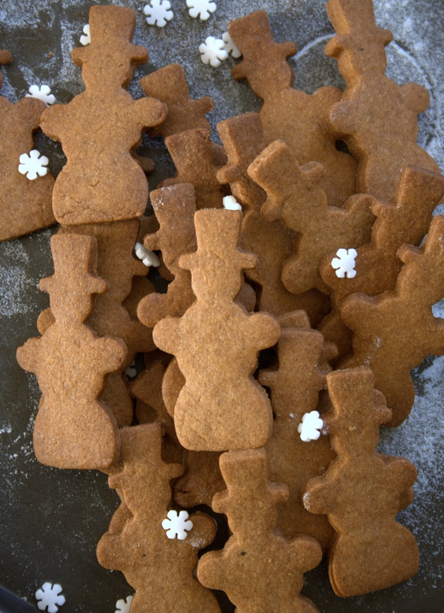 Biscuits Père Noel aux épices